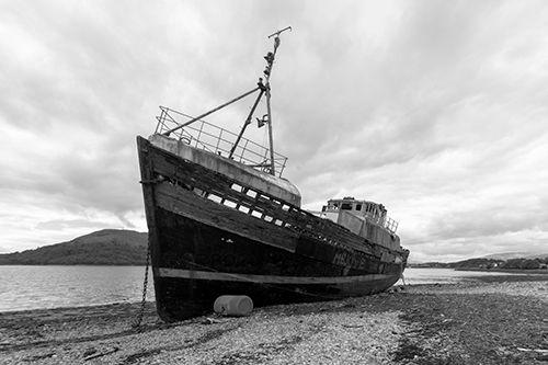 Corpach wreck - precise MV Days - azimuthimages | ello