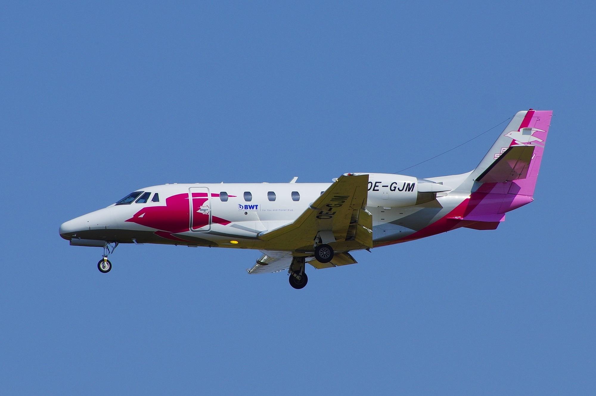 Pink Sparrow Air Charter Cessna - brummi | ello