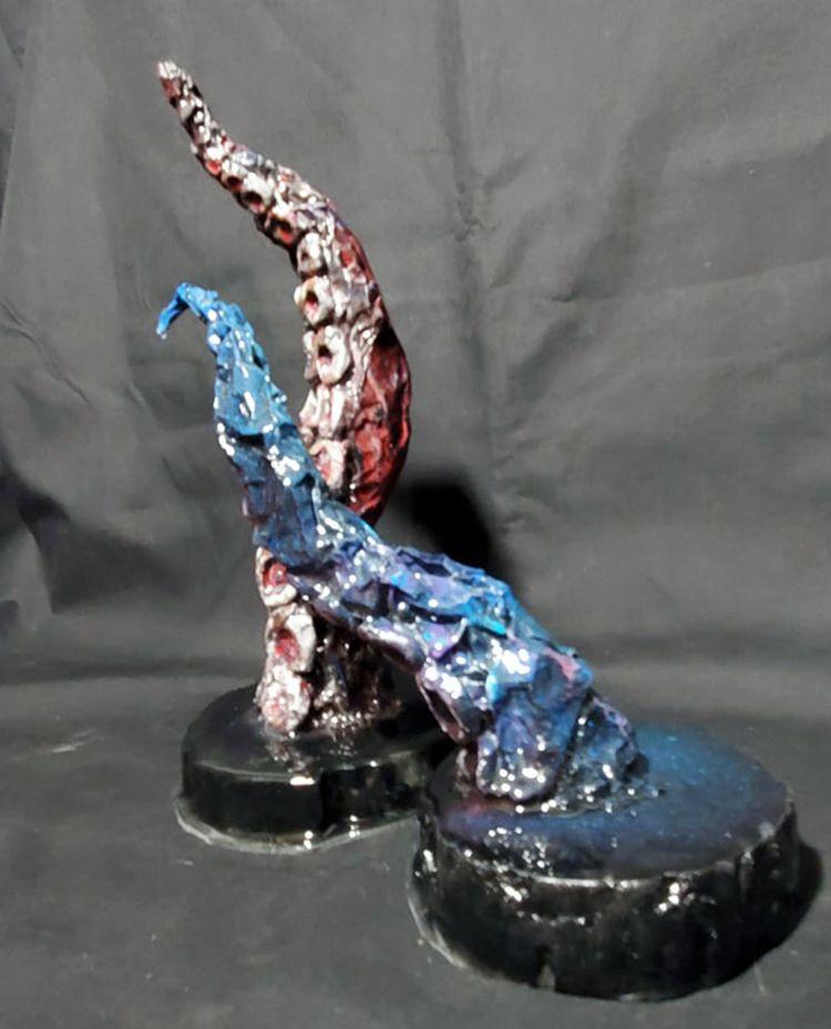 Cephalopod Tentacle Sculptures  - csstanley | ello