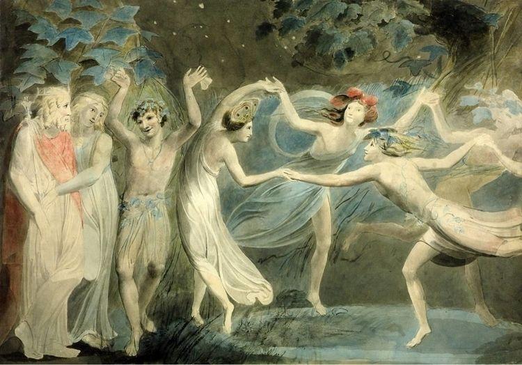 Oberon, Titania Puck Fairies Da - jolandasdreamworld | ello