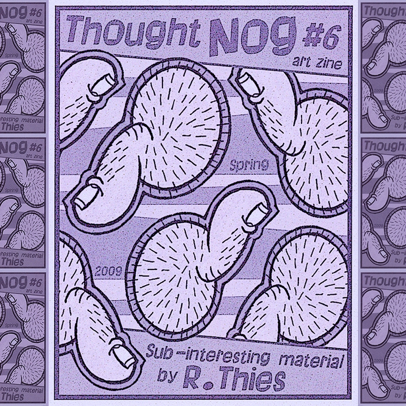 Thumbnut Invasion cover THOUGHT - rthies | ello