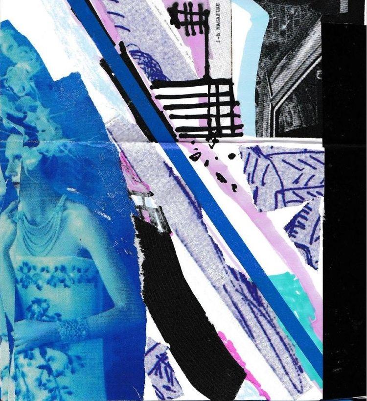 LONDON SKETCHBOOK page 3 - collageart - chraub | ello