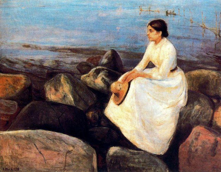 Edvard Munch, Summer Night (Ing - geeksusie | ello