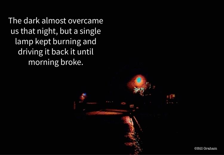 Darkness intense, single lamp b - bgfl   ello