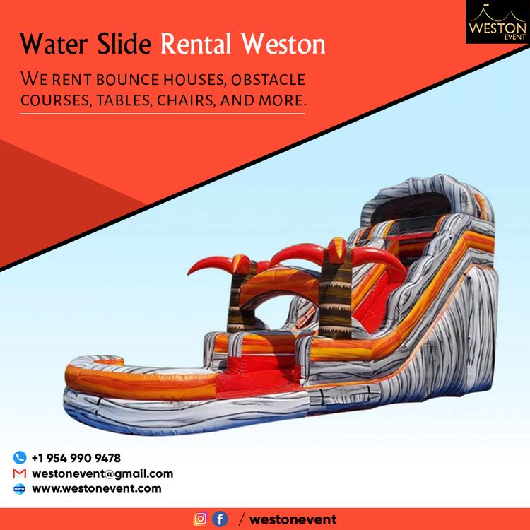 Water Slide Rental Weston water - westonevent | ello