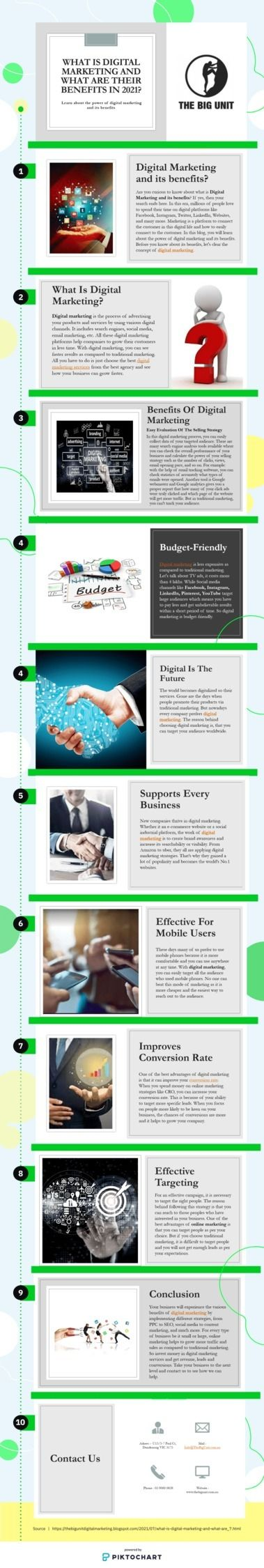 curious Digital Marketing benef - thebigunit | ello