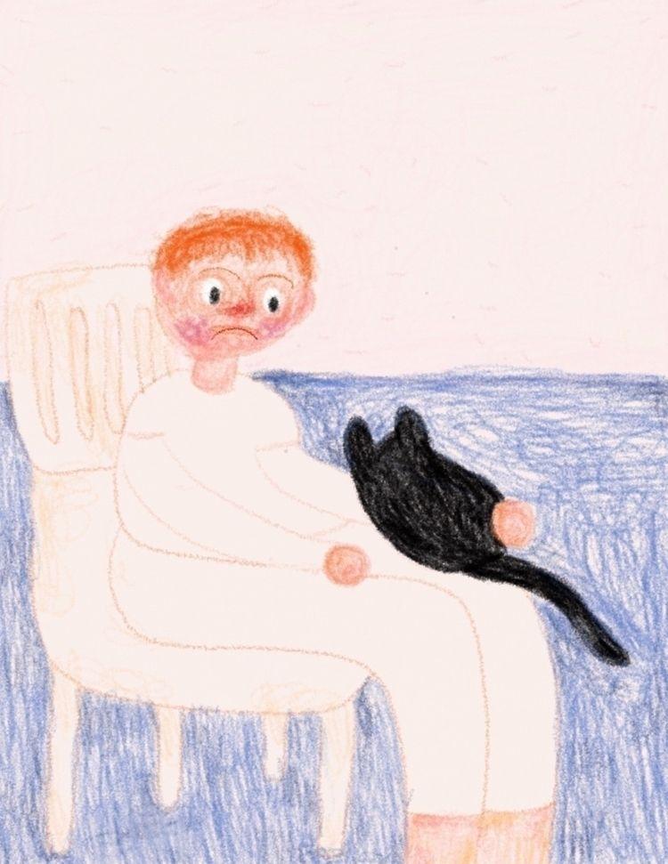 black cat (2021 - peony_orchidd | ello