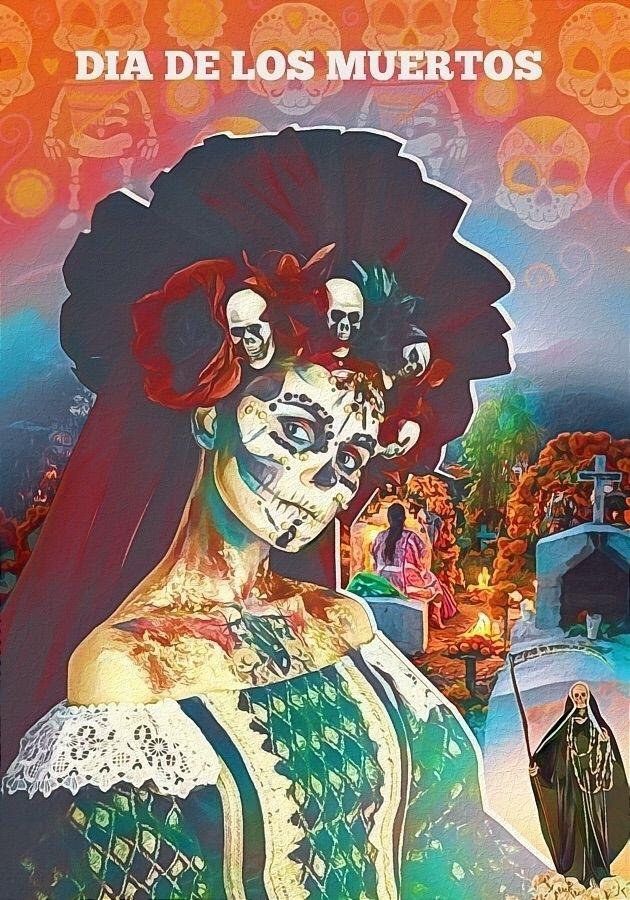 Dia De Los Muertos. Small cropp - tommyjordache | ello