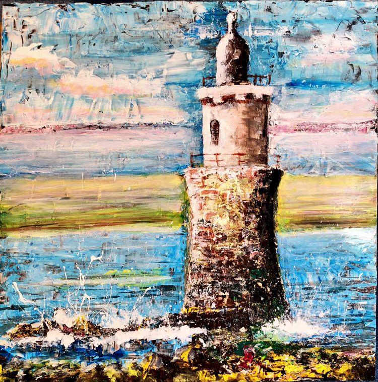 Plover Scar lighthouse - bradverts | ello