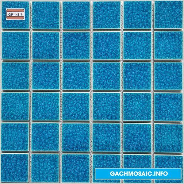 Mẫu gạch mosaic gốm GP - 48 7 G - gachmosaicinfo1   ello
