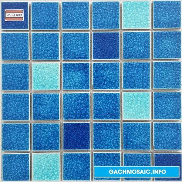 Mẫu gạch mosaic gốm GP - 48 238 - gachmosaicinfo1 | ello