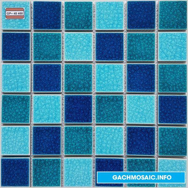 Mẫu gạch mosaic gốm GP- 48 468  - gachmosaicinfo1 | ello