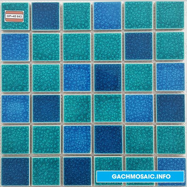 Mẫu gạch mosaic gốm GP - 48 643 - gachmosaicinfo1 | ello