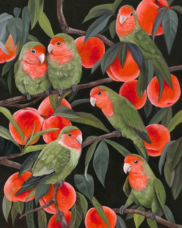 'Lovebirds', 2020 Oil canvas - painting - mosessa | ello