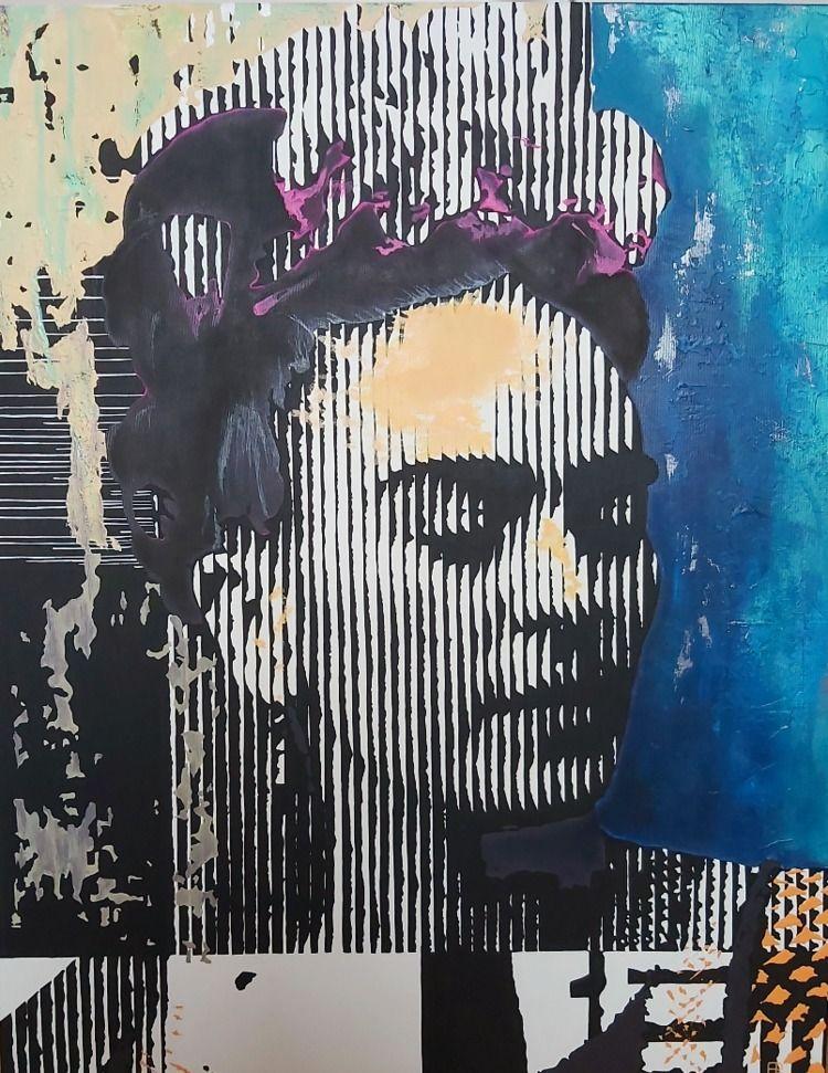 Frida Pt.III (2021) - Acrylic p - elizarockerart | ello