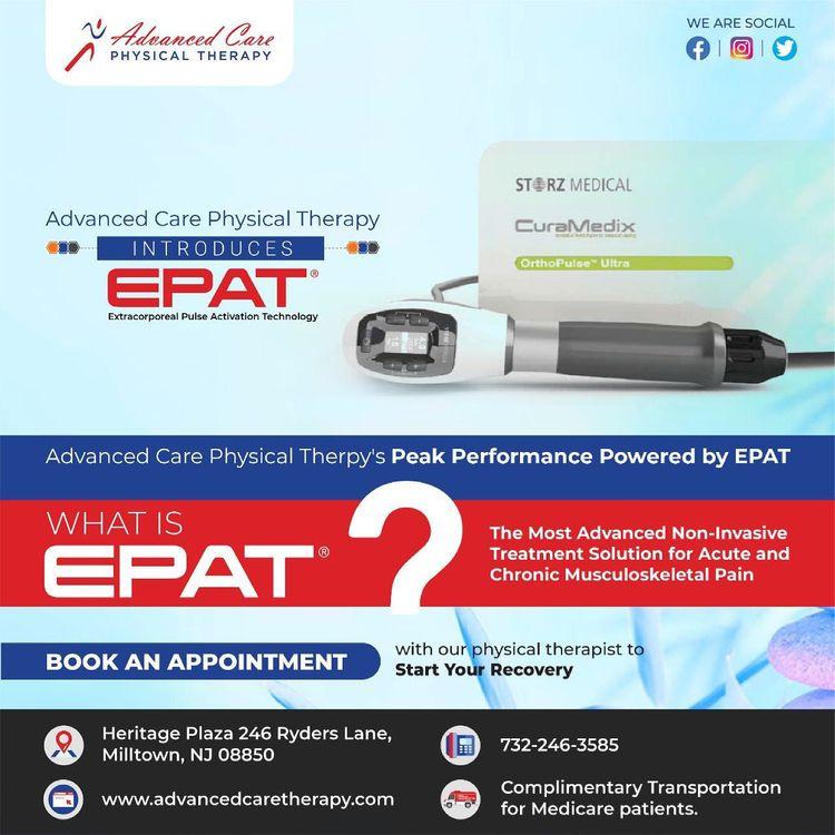 EPAT? Extracorporeal Pulse Acti - therapius | ello