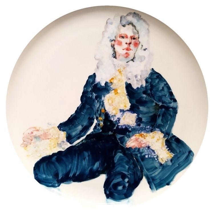 underglaze painting - porcelain - katrinvalgemae | ello