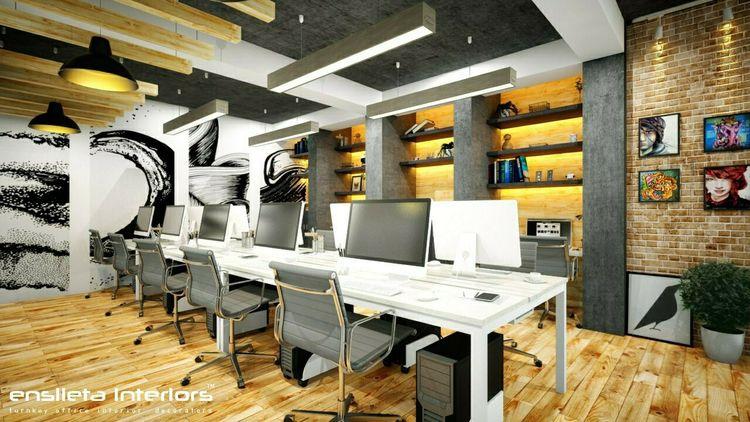 ideas small office space design - ensileta | ello