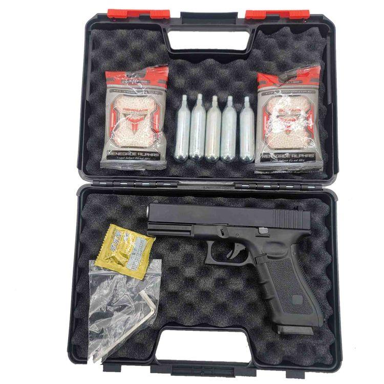 Glock G17 Gas-Powered Co2 Metal - renegadeblasters | ello