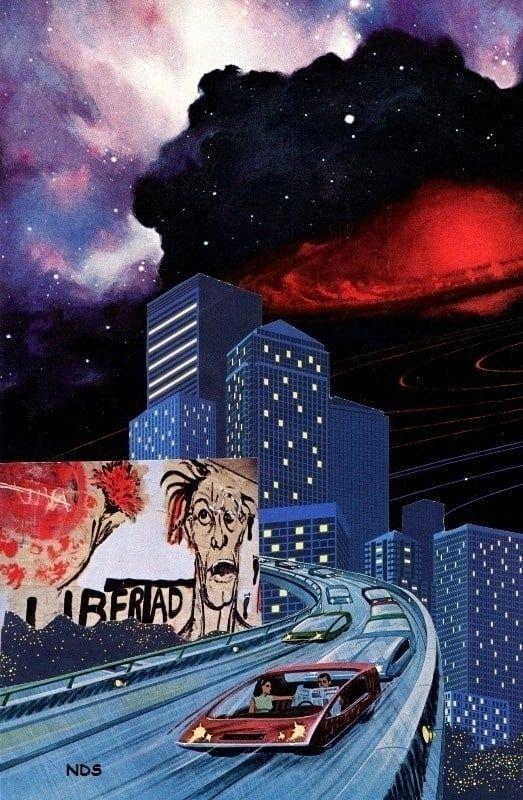 Libertad - 2016 Handcut collage - strangeworld | ello