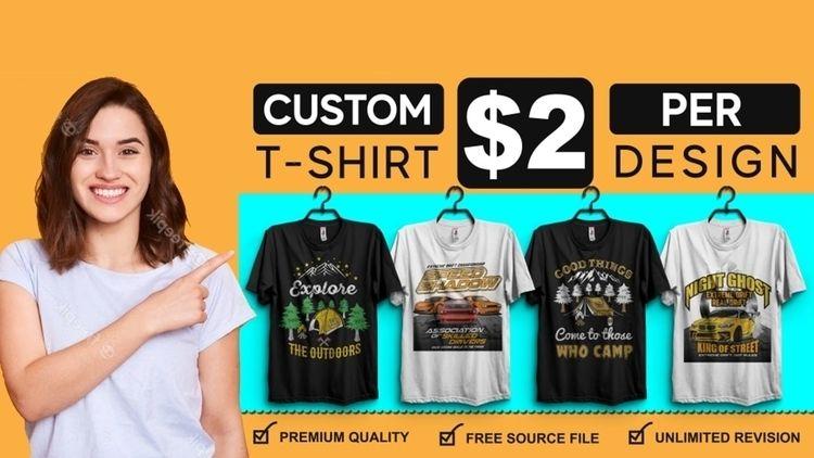 create custom shirt design Cust - najma_begum10 | ello