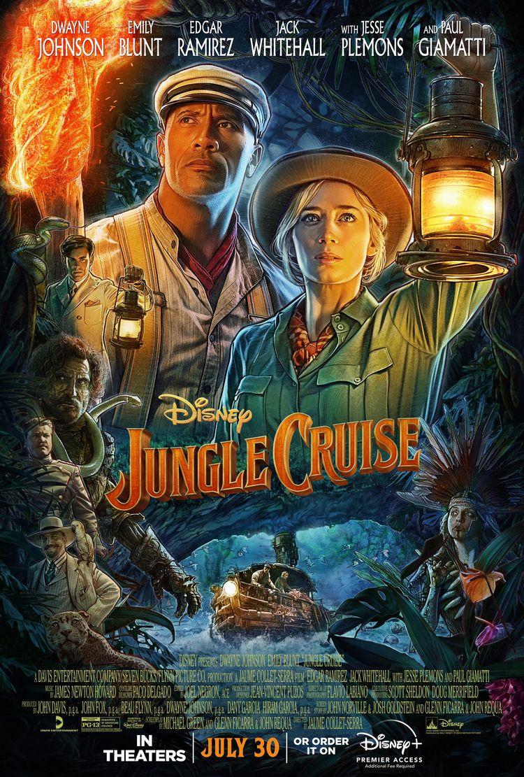 Jungle Cruise Review movie base - comicbuzz   ello