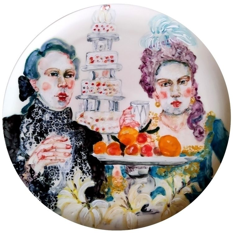 porcelain, plate - katrinvalgemae | ello