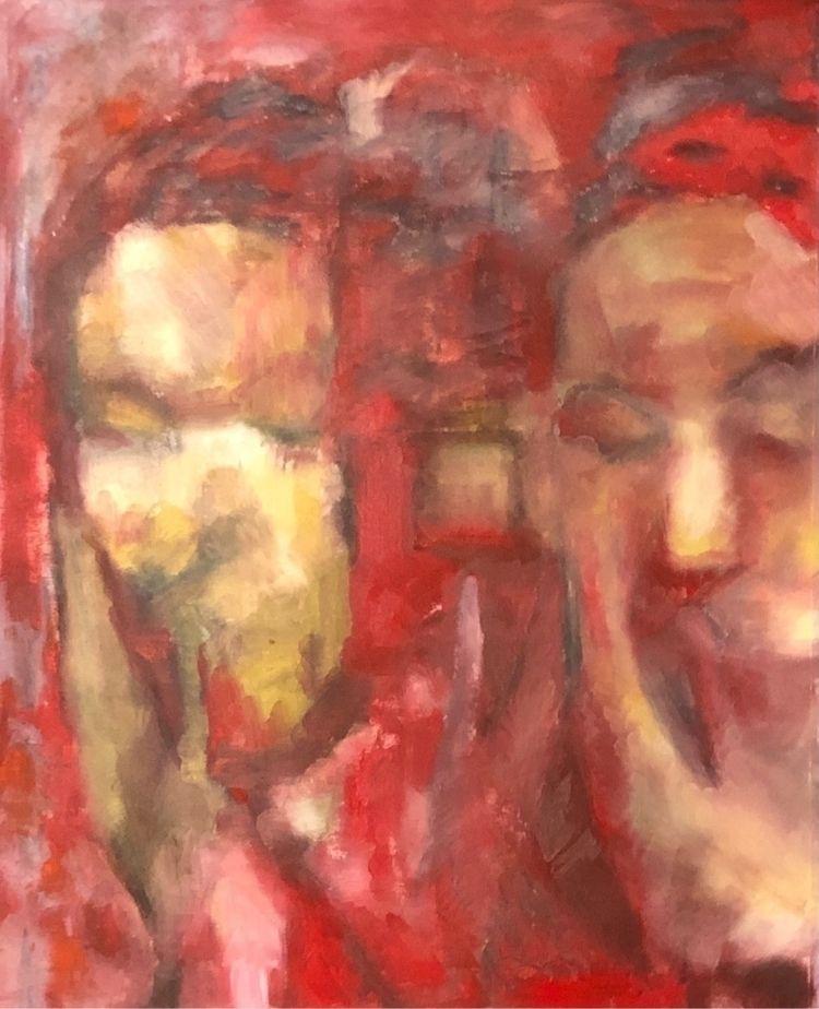 oilpainting, painting, figure - miketrujillo | ello