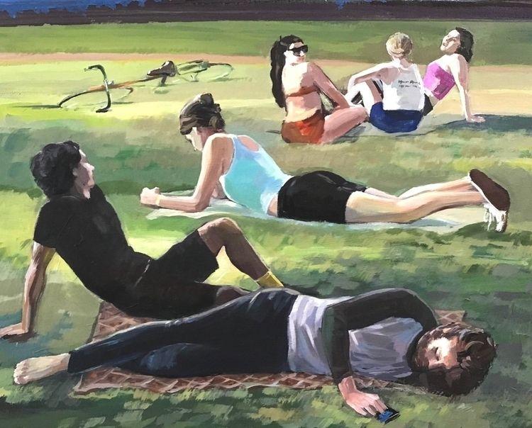 People York Park difficult life - atsushiohashi   ello