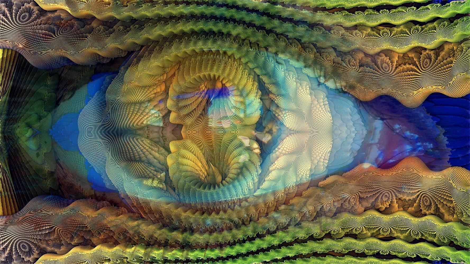 Ocularis Fractalis....@hatun - elloart..@ello...#digitalart.#ellodigitalart. - zygzwurx | ello