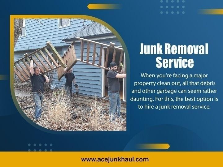 Junk Removal Service 5 Reasons  - acejunkhaul | ello