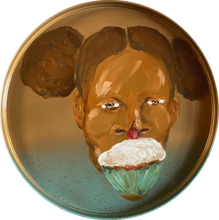 Title: Cupcakes breakfast Size - tashatheartist | ello