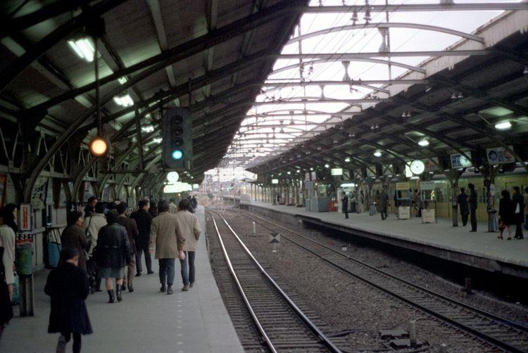 Tokyo 1972 Yoyogi Station Photo - nickdewolfphotoarchive | ello