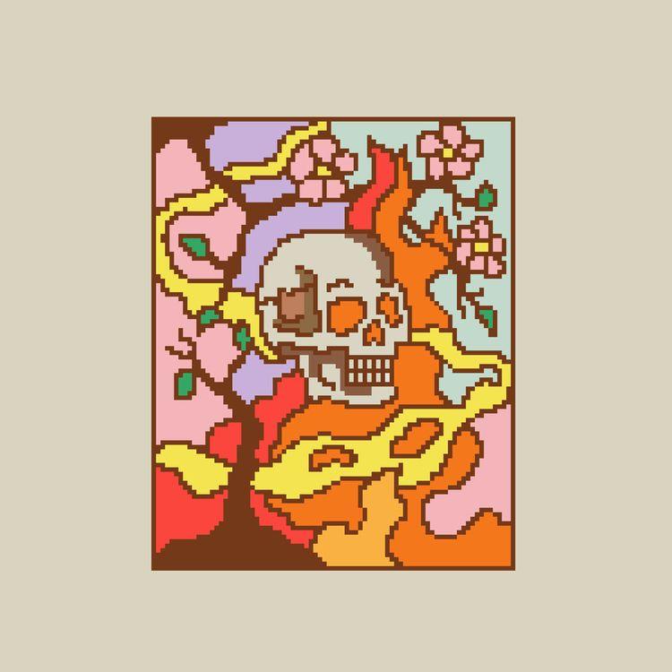 Blooms Mass Destruction 03 - pixelart - tameem   ello