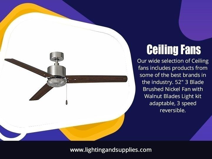 Ceiling Fans ceiling fan fixed  - lightingandsupplies | ello