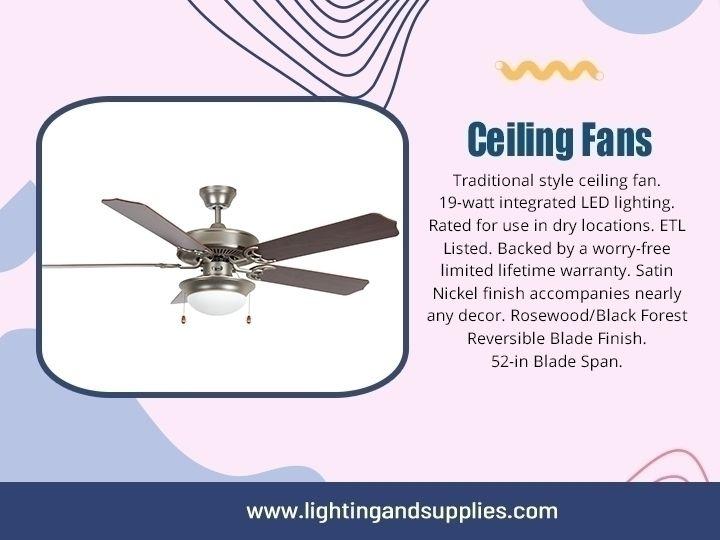 Ceiling Fan ceiling fan fixed h - lightingandsupplies | ello