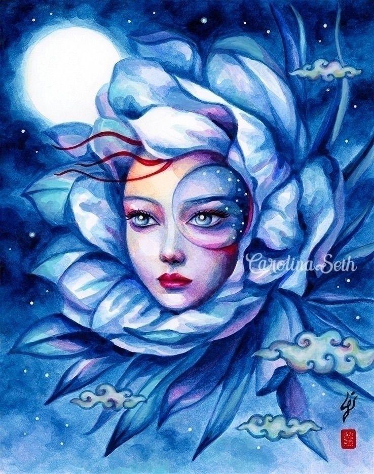 proudly present: Night Bloom in - carolinaseth   ello