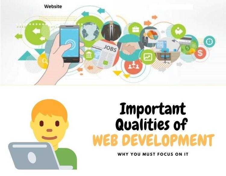 Important Qualities Good Web De - lordsweb | ello