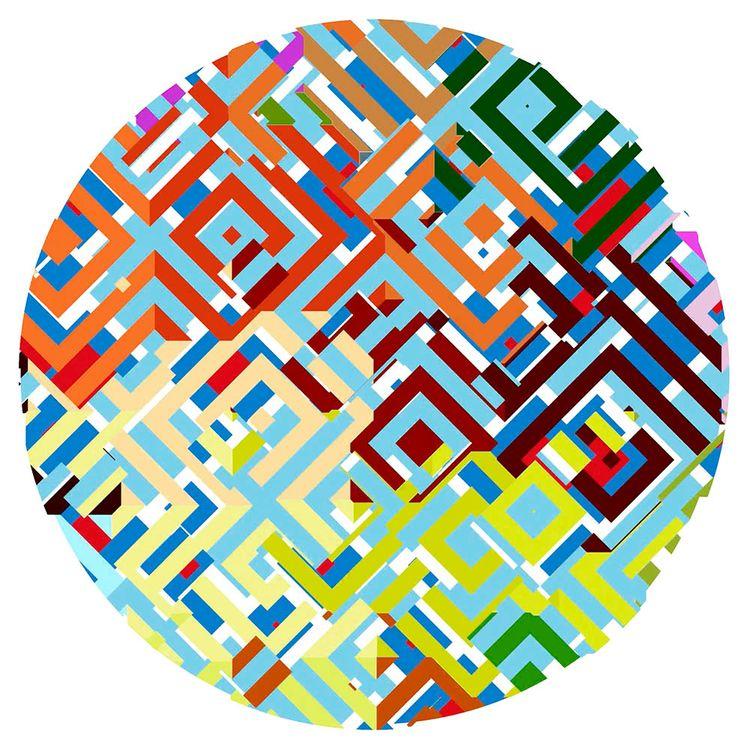 grid. Procedurally generated an - chriskeegan | ello