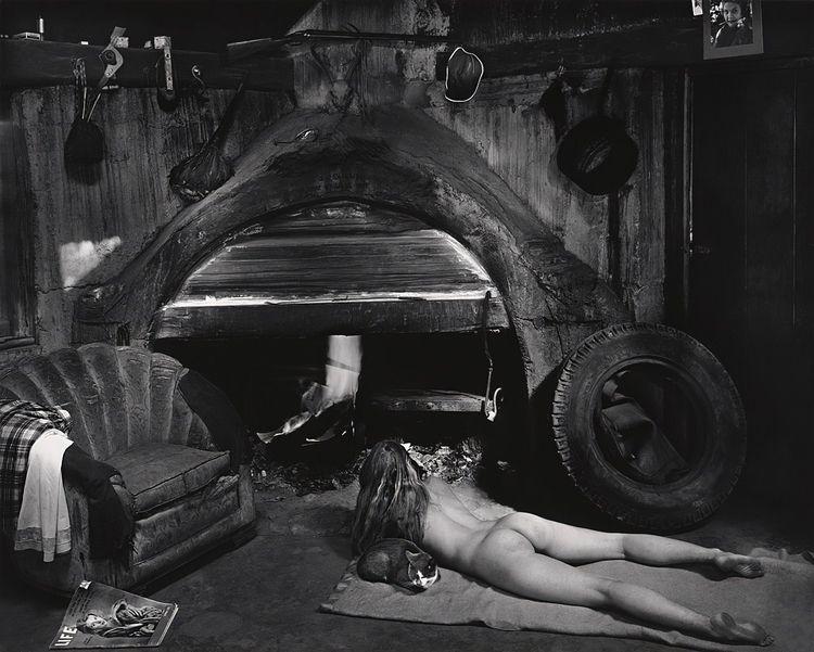 Wynn Bullock, Marilyn Cat, 1956 - romporn | ello
