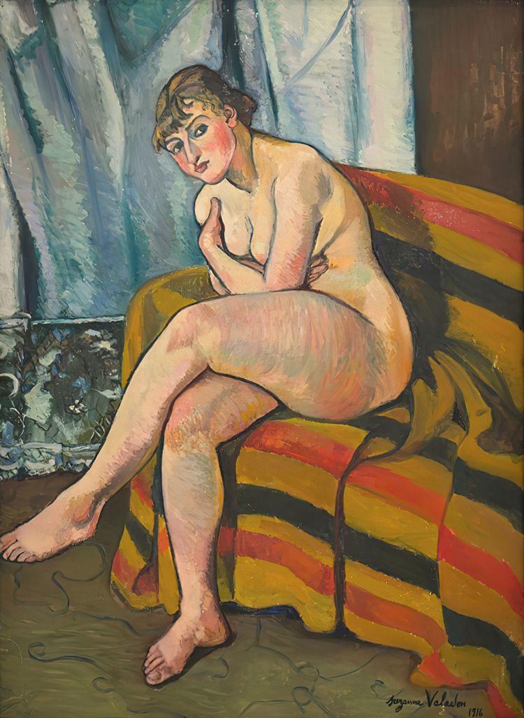 Suzanne Valadon, Nude Sitting S - geeksusie | ello