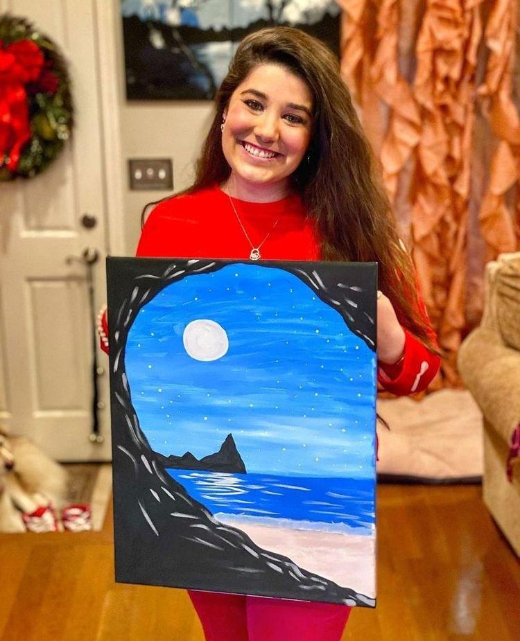 Spotlight magical creations!  - paintandsiplive - paintandsiplive   ello