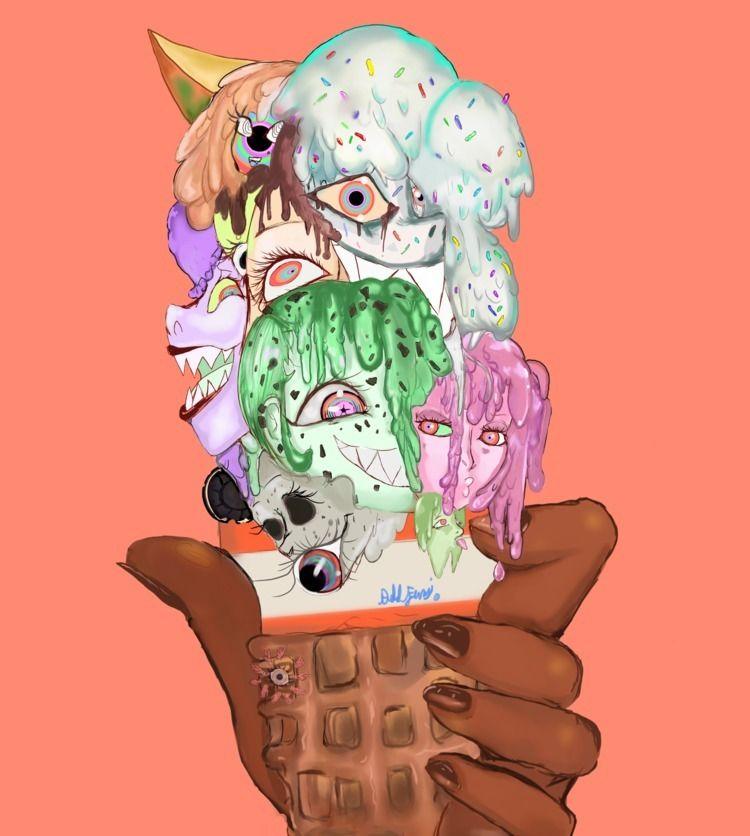 Ice Cream Copy - oddfungi | ello