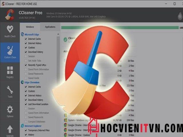 Link download Ccleaner – Phần m - hocvienitvn | ello