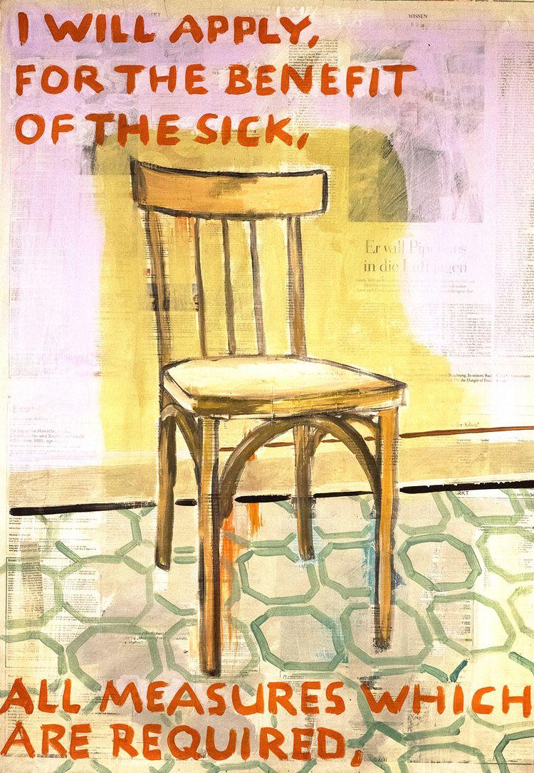 benefit sick, waiting room, gre - boraistudio   ello