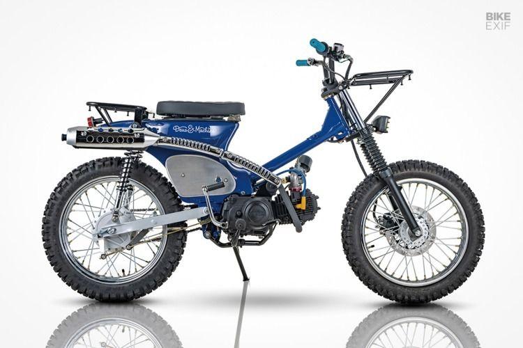 grid: pair Super Cub scramblers - ellomotorcycles | ello