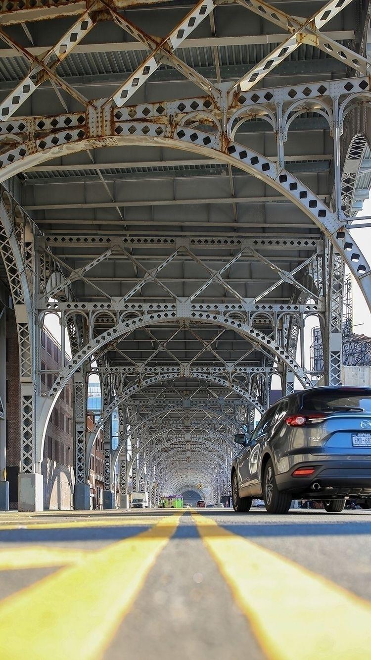Riverside Drive Viaduct facing  - adwow   ello