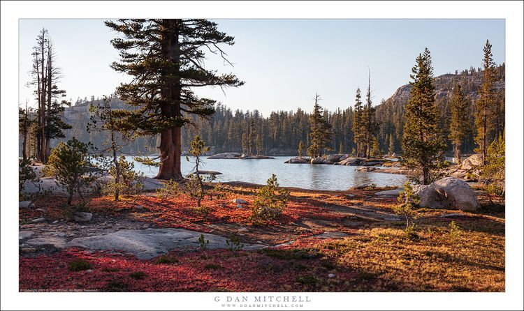Wilderness Lake, Late Season Li - gdanmitchell   ello
