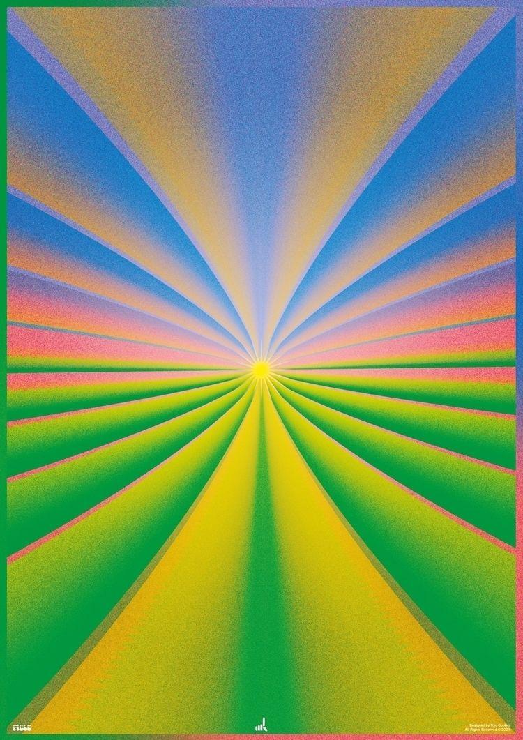 Field (Morning Glow 2 - poster, posterdesign - madleif | ello