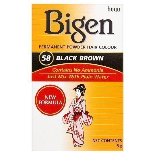 Bigen Permanent Powder Hair Col - cosmeticsweb | ello